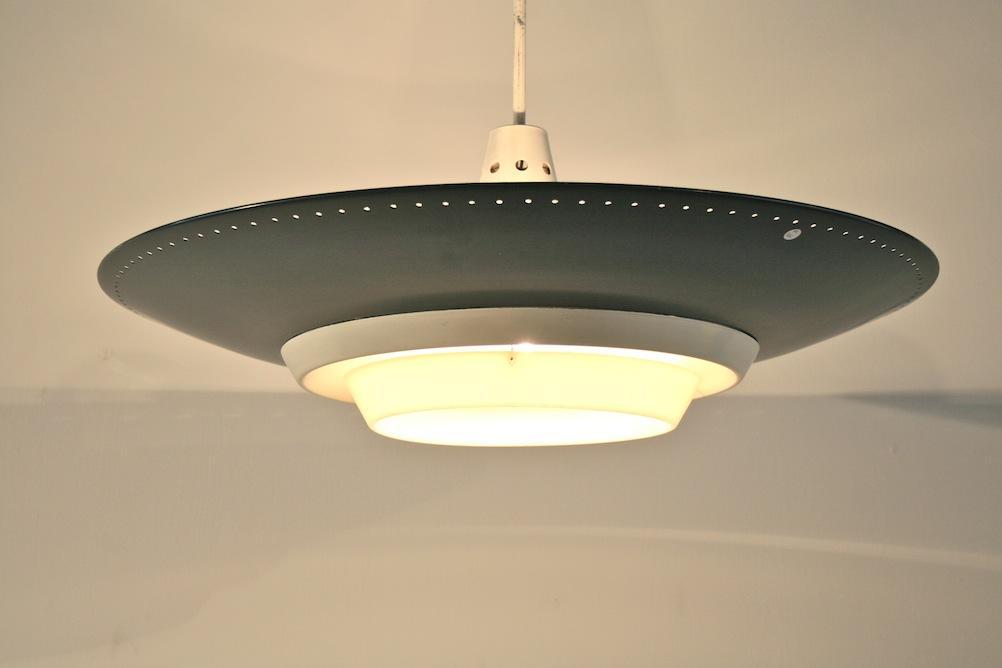 1950er deckenlampe von louis kalff f r philips 5088. Black Bedroom Furniture Sets. Home Design Ideas