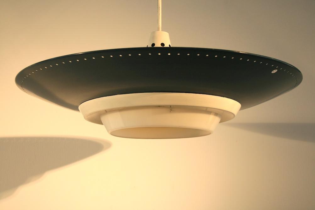 1950er deckenlampe von louis kalff f r philips 5088 div leuchten lampe timetunnel. Black Bedroom Furniture Sets. Home Design Ideas
