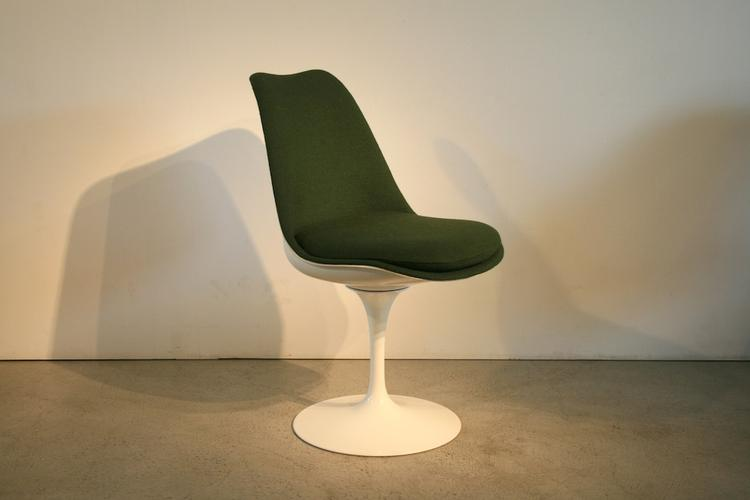 6er-Set Tulip-Saarinenstühle von Knoll International - 1