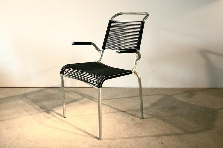 armlehn spaghetti stuhl modell 1141 von altorfer f r. Black Bedroom Furniture Sets. Home Design Ideas