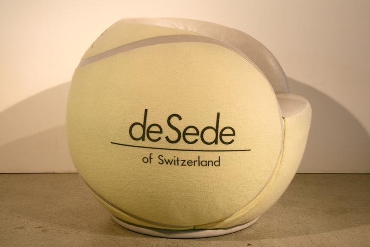 Desede tennisball sessel aus den 1980er jahren 5050 for Sessel aus den 50er jahren