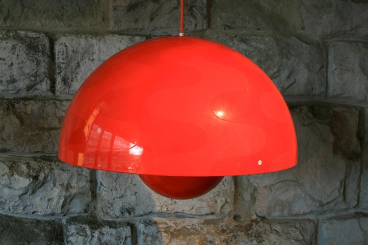 flowerpot lampe von verner panton 4910 div leuchten. Black Bedroom Furniture Sets. Home Design Ideas