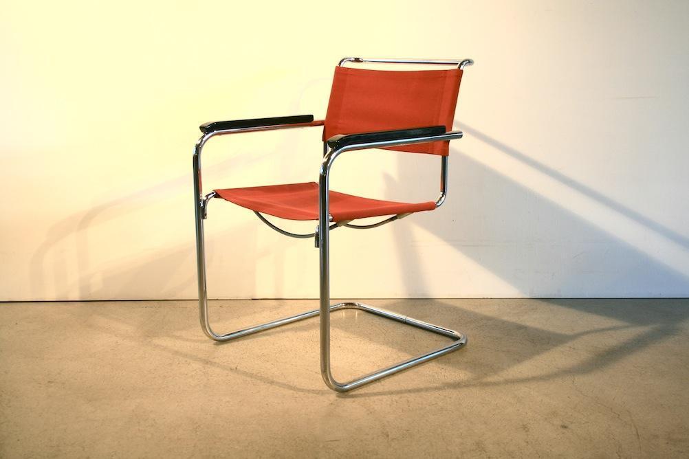 freischwinger b34 von marcel breuer f r thonet 5104. Black Bedroom Furniture Sets. Home Design Ideas