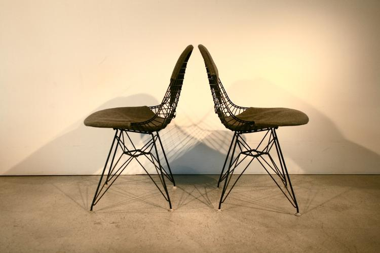 Original 1960er Bikini Wire Chair von Eames