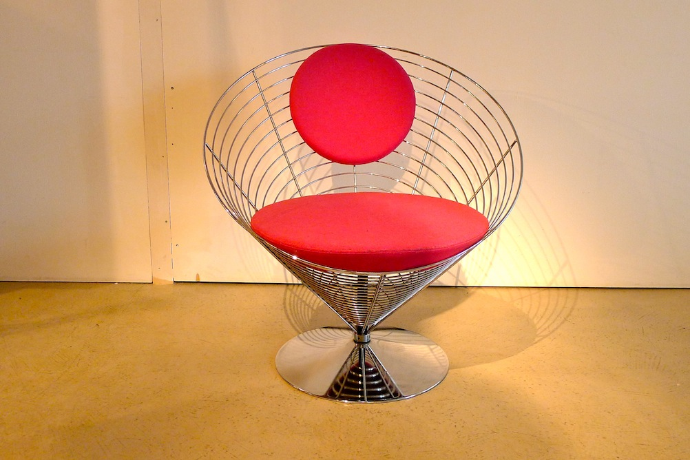 Panton Cone-Wire Chair - 2