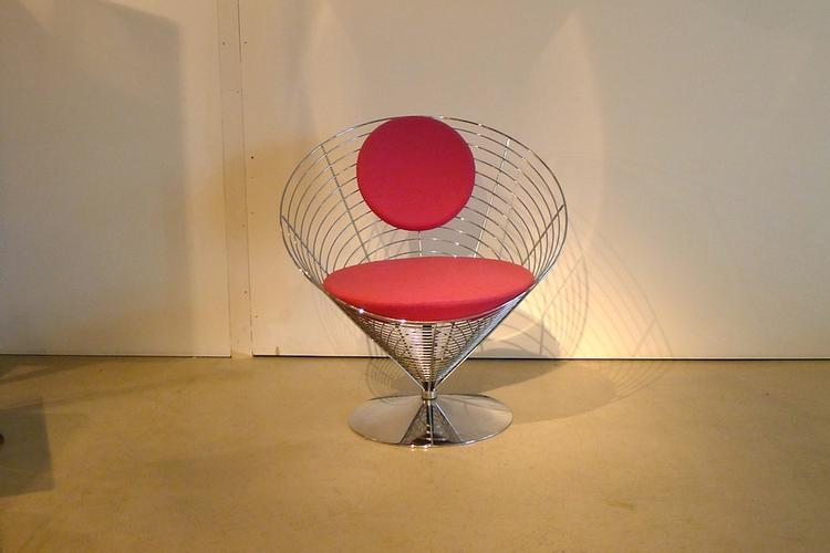 Panton Cone-Wire Chair