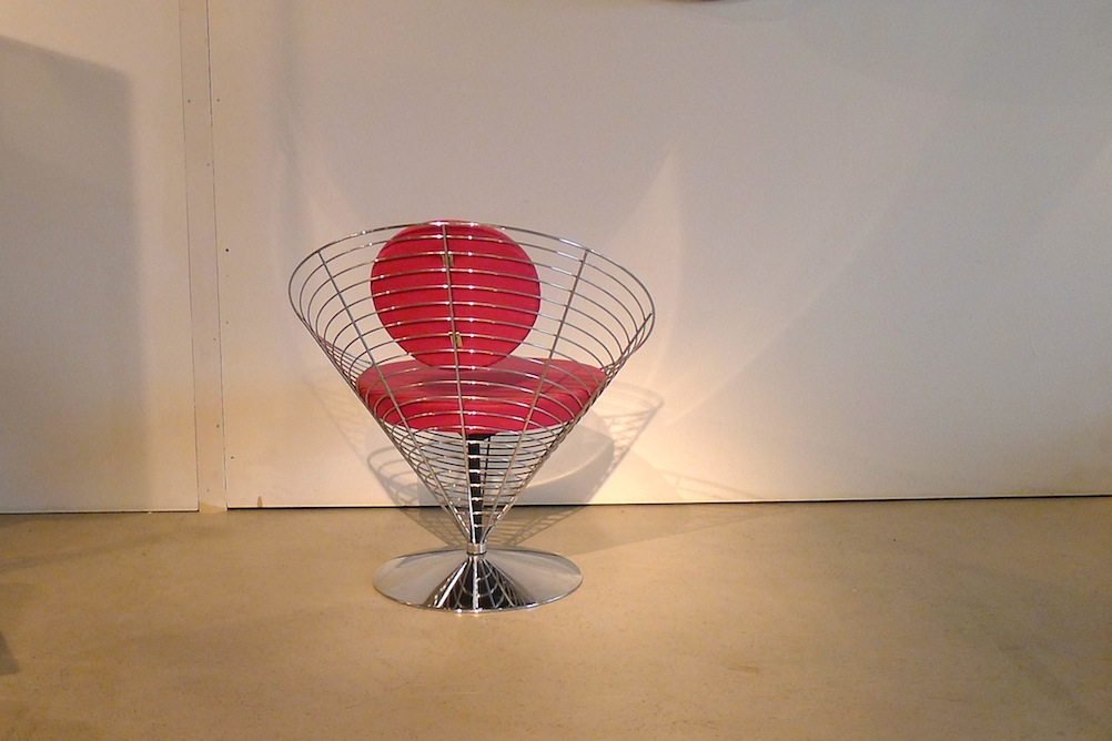 Panton Cone-Wire Chair - 1