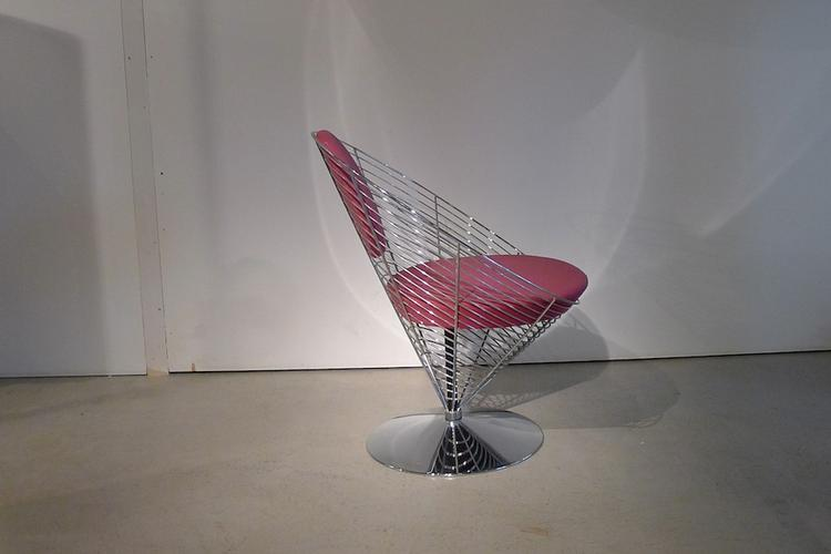 Panton Cone-Wire Chair - 0