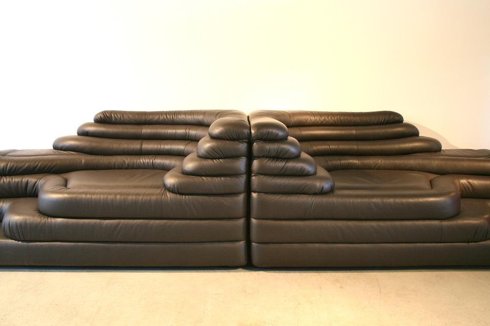 reedition desede terrazza sofa ds 1025 5108 leder sofas sofa sessel timetunnel. Black Bedroom Furniture Sets. Home Design Ideas