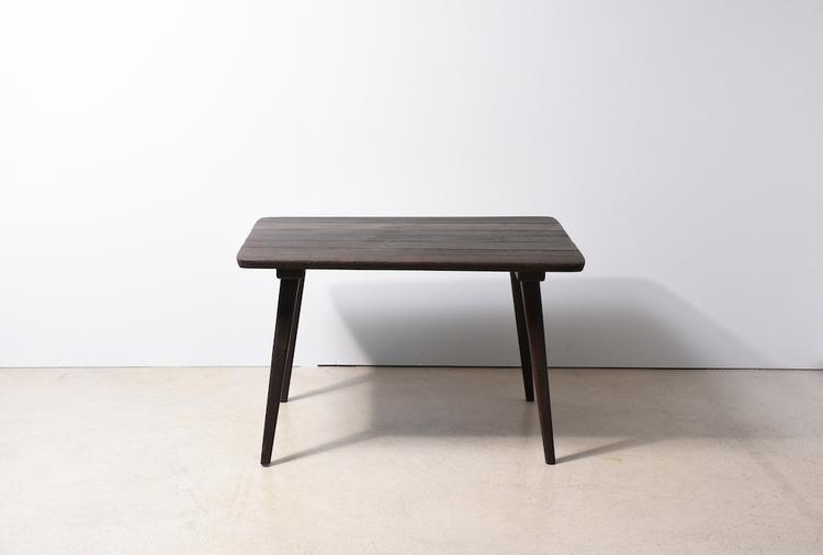 tisch mit 2 st hlen von anliker langenthal gebeizte douglaskiefer 5197 stuhl hocker. Black Bedroom Furniture Sets. Home Design Ideas